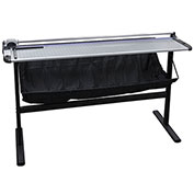 """United Rotary Paper Trimmer with Metal Stand - 51"""" Cutting Length - 10 Sheet Capacity - Gray"""