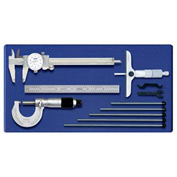 Fowler 52-095-025 Four Piece Measuring Set