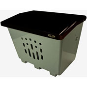 "Frost Product The Big Thaw Sand/Salt Bin 2000 - 36""W x 25.5""D x 27.5""H, 61.25 Gallon Capacity"