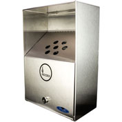 Frost Heavy Duty Stainless Steel Large Ash Bin, 909