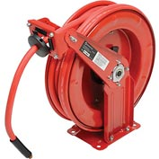"Florida Pneumatic 6801 3/8""x50' Retractable Steel Hose Reel"
