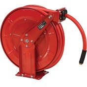 "Florida Pneumatic 6802 1/2""x50' Retractable Steel Hose Reel"