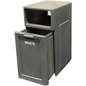 Forte 42 Gallon Waste Convenience Center, Gray - 8001742