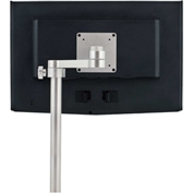 Copperhead Post-Style Monitor Mount, with VESA Plate & Small Edge Clamp