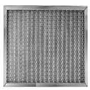 "Filtration Manufacturing 0506-10202 Mesh Filter Galvanized Steel Medium Weight 10""W x 20""H x 2""D - Pkg Qty 2"