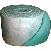 """Filtration Manufacturing 1114-48901 Polyester Media Roll, MERV 8, Green/White, 1080""""L x 48""""H x 1""""D"""