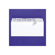 White Wove Grip Seal® Business Envelopes, #6-3/4, Inside Tint, 55/Box