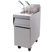 Frymaster - MJ35 Series Gas Fryer 40 lb. Capacity - Natural Gas w/ Casters