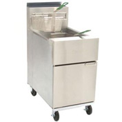 Dean® Super Runner Floor Fryer 75lb. Oil Cap. - Liquid Propane