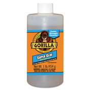 Gorilla Glue Instant-Bond Super Glue 1 lb Bottle Clear