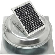 Master Flow® Solar-Power Roof Fan, 500 CFM