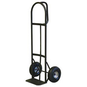 Milwaukee Hand Truck 30019 - D-Handle - Pneumatic Wheels - 800 Lb. Capacity - Black