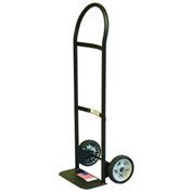 Milwaukee Hand Truck 30151 - Flow Back Handle - Semi-Pneumatic Wheels - 300 Lb. Capacity - Black