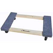 "Milwaukee Wood Furniture Dolly 33800 - Carpeted Ends - 30"" x 18"" - 1000 Lb. Capacity"