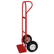 Milwaukee Hand Truck 48866 - P-Handle - Pneumatic Wheels - 800 Lb. Capacity - Red