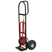 Milwaukee Hand Truck 49515 - D-Handle - Pneumatic Wheels - 800 Lb. Capacity - Black & Red