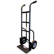 Milwaukee Heavy Duty Hand Truck 60138 - Dual Handle - Solid Rubber Wheels - 1000 Lb. Cap. - Black