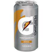 Gatorade Cans, Orange, 11.6 Oz, 24/Case