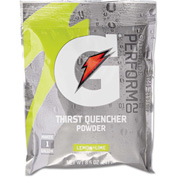 Gatorade Instant Powder, Lemon Lime, 8.5 Oz, 40/Case