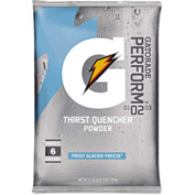Gatorade® 51 Ounce Instant Powder Pouch Glacier Freeze Electrolyte Drink - Yields 6 Gallons