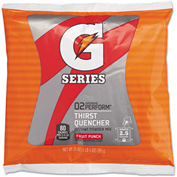 Gatorade GTD33691 - Instant Powder Fruit Punch, 21 Oz. Packet Makes 2 1/2 Gallons, 32/Case