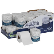 GP Angel Soft Ultra Professional Series 2-Ply Premium Embossed Bathroom Tissue 20 Rolls/Case 1632014