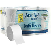GP Angel Soft Compact Coreless 2-Ply Premium Bathroom Tissue, 750 Sheets/Roll 13 Rolls/Case -1937300
