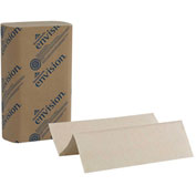 GP Envision Brown Multifold Paper Towels, 250 Towels/Pack, 16 Packs/Case - 23304