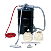 "55 Gallon B Pneumatic Vacuum Unit w/ 1.5"" Inlet & Powder Coating Attachment Kit"