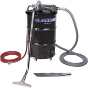 "Guardair 55 Gallon D Pneumatic Vacuum Unit w/ 1.5"" Inlet & Attachment Kit"