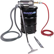 "55 Gallon Dual B Pneumatic Vacuum Unit w/ 1.5"" Inlet & Attachment Kit"