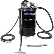 "55 Gallon Dual B Vacuum Unit w/ 1.5"" Inlet & Attachment Kit - Static Conductive"