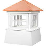 "Good Directions Huntington Cupola 18"" x 25"", White"