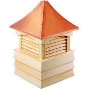 "Good Directions Sherwood Wood Cupola 18"" x 25"""