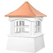 "Good Directions Windsor Cupola 18"" x 25"", White"