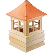 "Good Directions Guilford Wood Cupola 22"" x 32"""