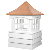 "Good Directions Guilford Vinyl Cupola 23"" x 32"""