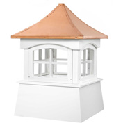 "Good Directions Windsor Vinyl Cupola 22"" x 32"""