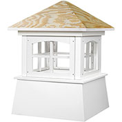 "Good Directions Brookfield Cupola 72"" x 93"", White"