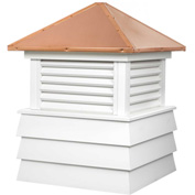 "Good Directions Dover Vinyl Cupola 72"" x 95"""