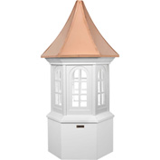 "Good Directions Georgetown Vinyl Cupola 26"" x 59"""