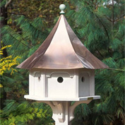 Good Directions Carousel Bird House w/ Polished Copper Roof