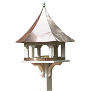 Good Directions Carousel Bird Feeder w/ Polished Copper Roof