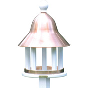 Good Directions Bell Bird Feeder w/ Polished Copper Roof