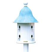 Good Directions Bell Bird House w/ Blue Verde Copper Roof