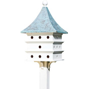 Good Directions Ultimate Martin Bird House w/ Blue Verde Copper Roof