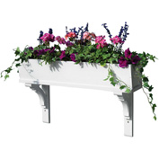 "Good Directions Sunrise Window Box, 60"", 3 Brackets"