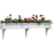 "Good Directions Federal Window Box, 72"", 3 Brackets"