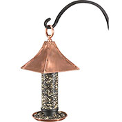 Good Directions Palazzo Bird Feeder, Polished Copper