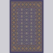 "Decor Mat - Blue 48"" x 72"""